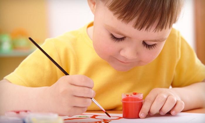 Abington Kids Creative Arts Studio - Abington: 5 or 10 Kids' Art Classes, or Choice of Summer Art Camp at Abington Kids Creative Arts Studio (Up to 75% Off). Four Options Available.