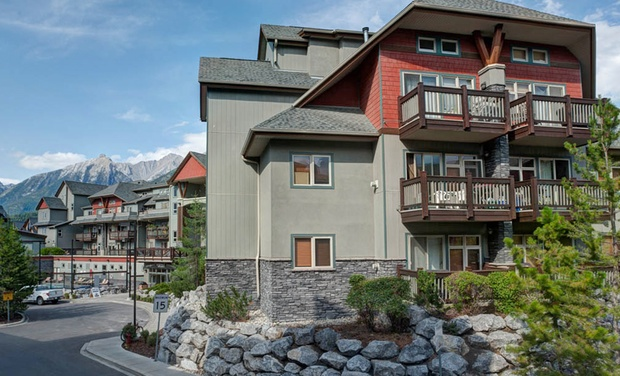 The Lodges at Canmore - Canmore, AB: Stay at The Lodges at Canmore in Alberta, with Dates into January