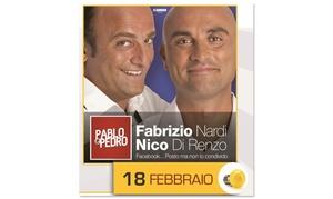 Menti Associate di Petronelli Gilda: Biglietti per Pablo e Pedro il 18 febbraio al Teatro Alba Radians di Albano Laziale (sconto fino a 40%)