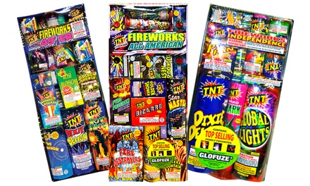 $10 for $20 Worth of Fireworks at TNT Fireworks Stands & Tents