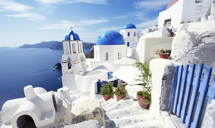 ✈ Santorini: 3, 5 or 7 Nights with Breakfast and Return Flights at a Choice of Hotels*