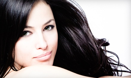 Smoothing Treatment or Haircut with Optional Sectional Highlights at Salon Calypso  Spa in Etobicoke (Up to 66% Off)