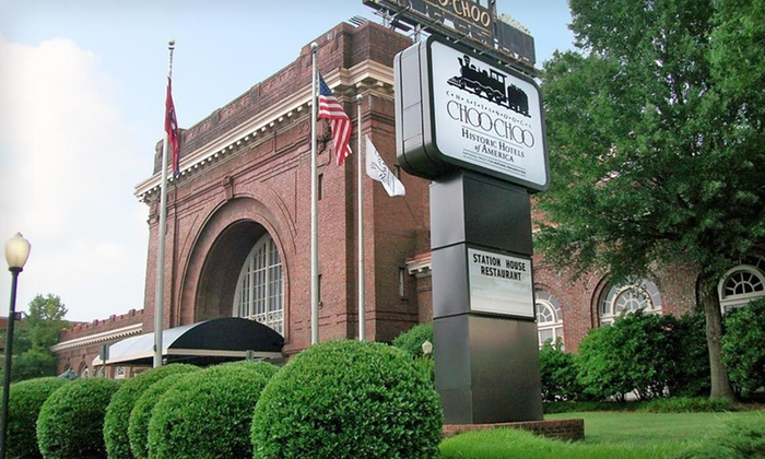 Chattanooga Choo Choo Hotel - Chattanooga, TN: One-, Two-, or Three-Night Stay with Dining Credits at Chattanooga Choo Choo Hotel in Chattanooga, TN