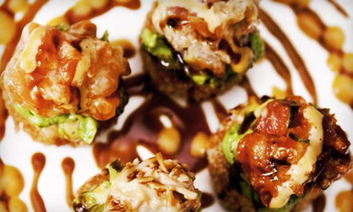 Neo World Bistro & Sushi Bar - Mount Kisco: $15 for $30 Worth of Asian Fusion Cuisine with Small Bottle of Sake at Neo World Bistro and Sushi Bar (a $35 Value)