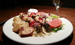 Malones Lakeside Grill: Three-Course Dinner for Two or Four at Malone's Lakeside Grill (Up to 37% Off)