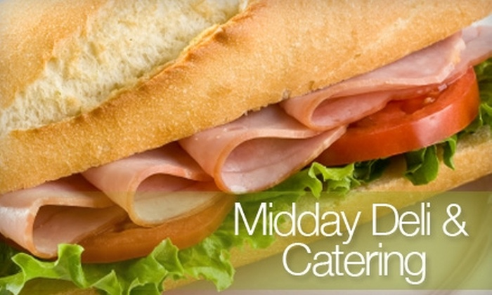 Midday Deli & Catering - Pike: $5 for $10 Worth of Sandwiches, Soups, and Salads at Midday Deli & Catering