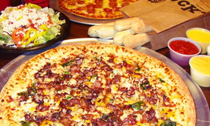 HotBox Pizza - Fairmont: Pizza Meal for Two or Four at HotBox Pizza (Up to 57% Off)
