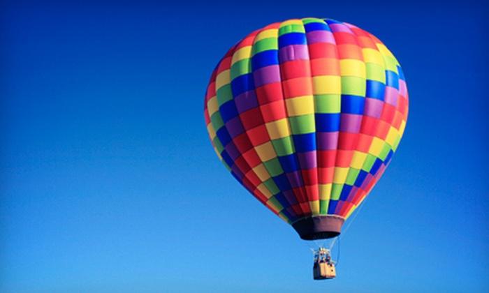 Vegas Balloon Rides - Paradise: Sunrise Hot Air Balloon Flight for Two on Monday–Thursday or Friday–Sunday from Vegas Balloon Rides (Up to 55% Off)