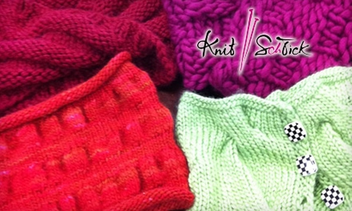 Knit Schtick - Costa Mesa: $25 for Five Knitting Classes of Your Choice at Knit Schtick in Costa Mesa