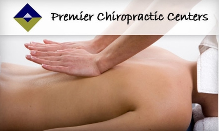 Premier Chiropractic Centers - Multiple Locations: $39 for a 30-Minute Therapeutic Massage, Comprehensive Exam, Consultation and Up To Three X-rays at Premier Chiropractic Centers