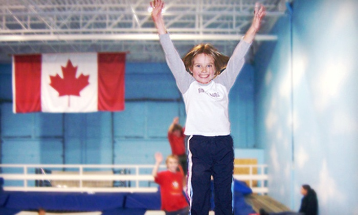 Airborne Trampoline KW - Cambridge: $20 for Three Recreational-Trampoline Classes for Ages 6–13 at Airborne Trampoline KW ($60 Value)