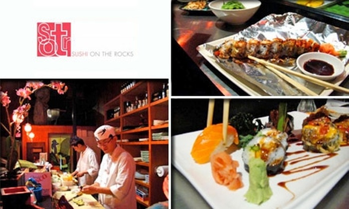 Sushi on the Rocks - Downtown Indianapolis: $20 for $50 Worth of Sushi and Drinks at Sushi on the Rocks