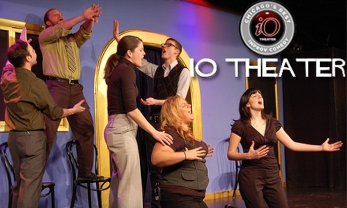 iO Theater - Lakeview: $12 for Four Tickets to Any Improv Comedy Show at iO Theater