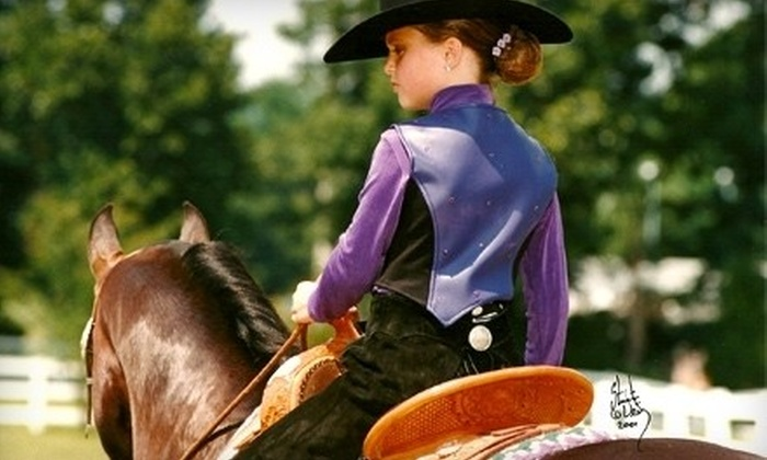 Garlands Farm - 2: Up to 61% Off Horse-Riding Lessons in Powhatan