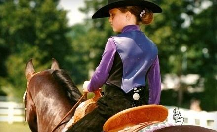 1 Private Horseback-Riding Lesson (a $50 value) - Garlands Farm in Powhatan