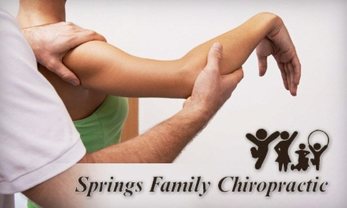Springs Family Chiropractic - Powers: $40 for Chiropractic Exam, Weight-Loss Consultation, and 60-Minute Massage from Springs Family Chiropractic ($240 Value)