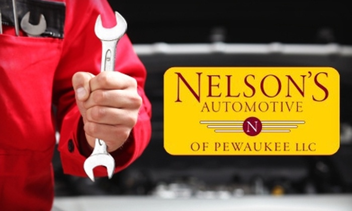 Nelson's Automotive of Pewaukee LLC - Pewaukee: $59 for a Total Vehicle Care Package at Nelson's Automotive of Pewaukee