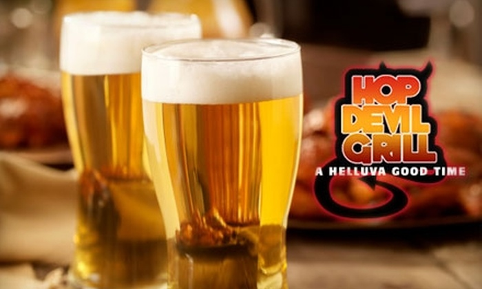Hop Devil Grill - East Village: $15 for $30 Worth of Tex-Mex Cuisine and Drinks at Hop Devil Grill