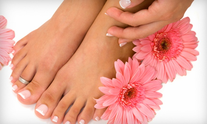 Butta Fingers Nail Studio - North Collinwood: $20 for Mani-Pedi at Butta Fingers Nail Studio in Euclid ($40 Value)