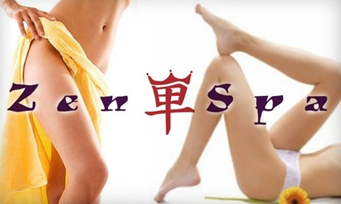 Zen Spa - Mohawk Hills: $25 for $60 Worth of Waxing and Spray Tanning at Zen Spa