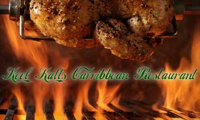 Kool Katts Caribbean Restaurant - Niagara Falls: $10 for $20 Worth of Exotic Cuisine at Kool Katts Caribbean Restaurant in Niagara Falls