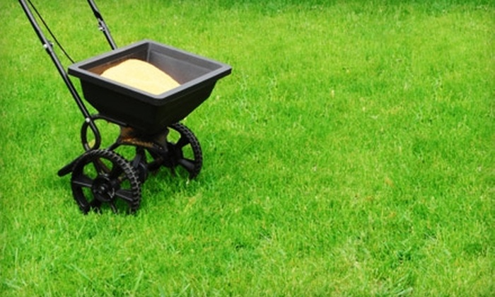 Absolute Landscape Construction - Edmonton: $60 for Two Lawn Cuts or One Lawn Cut and One Fertilization Service from Absolute Landscape Construction (Up to $127 Value)