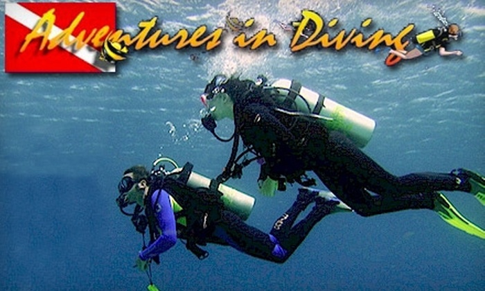 Adventures in Diving - Duluth: $20 for an Introductory Scuba-Diving Course at Adventures in Diving in Duluth
