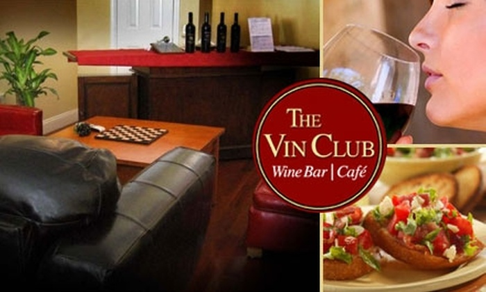 The Vin Club - Financial District: $20 for $40 Worth of Italian Cuisine and Wine at The Vin Club