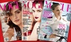 """Vogue: $8 for 12 Issues of """"Vogue"""" Magazine ($15 Value)"""