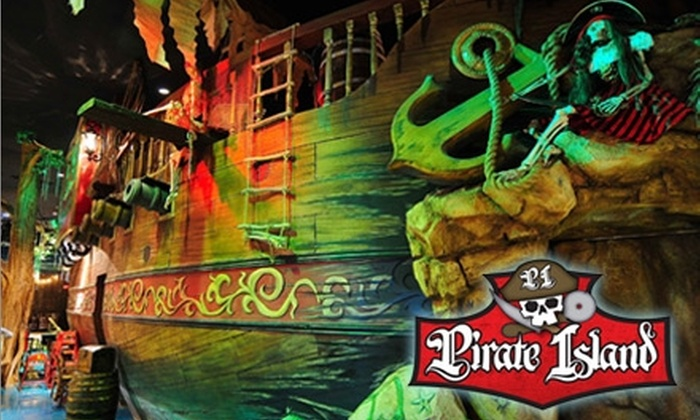 Pirate Island Pizza - Hillcrest: $10 for $20 Worth of Pizza, Pasta, Games, and More at Pirate Island Pizza