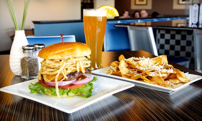 Indulge Burgers - Central Scottsdale: Burger Dinner for Four or Build-Your-Own Burgers and Drinks at Indulge Burgers in Scottsdale