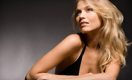 A Keratin-Conditioning-Mask Treatment, Eyebrow Wax, Haircut and Style (a $65 value) - Salon & Spa De Crist in Lee's Summit