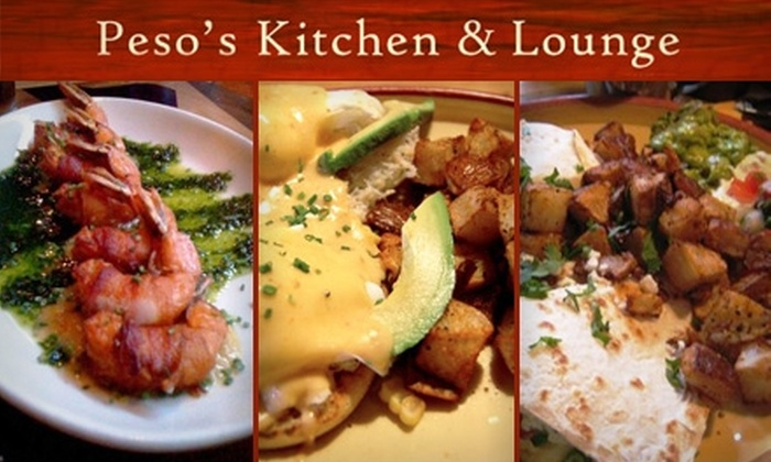 Peso's Kitchen & Lounge - Lower Queen Anne: $20 for $45 Worth of Mexican Cuisine and Drinks at Peso's Kitchen & Lounge