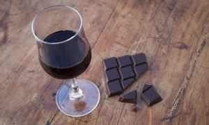 2 Chicks with Chocolate: Cocoa 101 Wine-Tasting and Truffle-Making Class for Two or Four at 2 Chicks with Chocolate (Up to 75% Off)