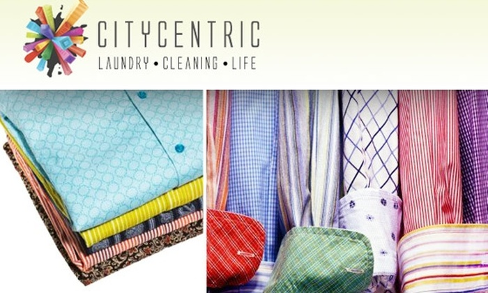 CityCentric - Washington DC: $15 for $30 Worth of CityCentric Delivery Laundry Service