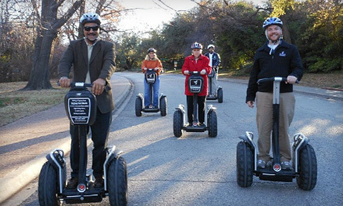 Segway Experience Center Fort Worth - The River Ranch Stockyards Event Venue : Botanic Garden Segway Tour for One, Two, or Four from Segway Experience Center Fort Worth (Up to 56% Off)