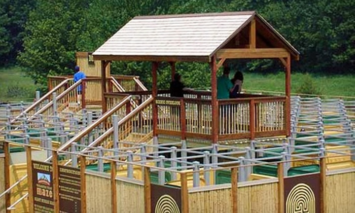Wonder Mountain Family Fun Park - Moody: $15 for $30 Worth of Mini Golf and Maze Runs at Wonder Mountain Family Fun Park in Moody
