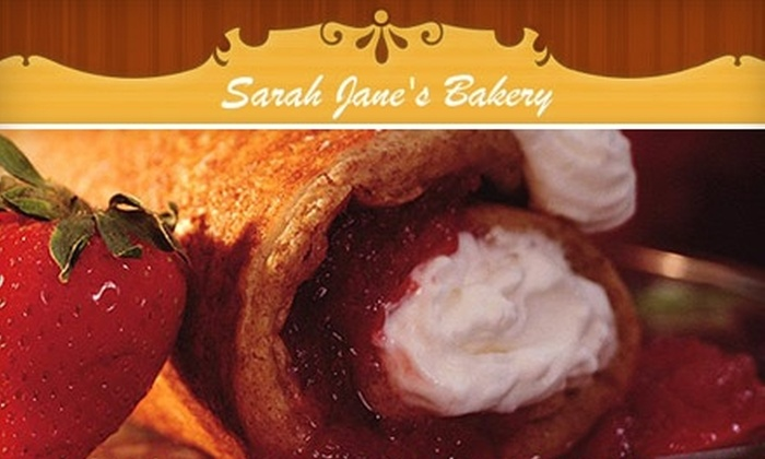 Sarah Jane's Bakery - Audubon Park: $7 for a One-Dozen Assortment of Donuts and Pastries from Sarah Jane's Bakery (Up to $14.28 Value)