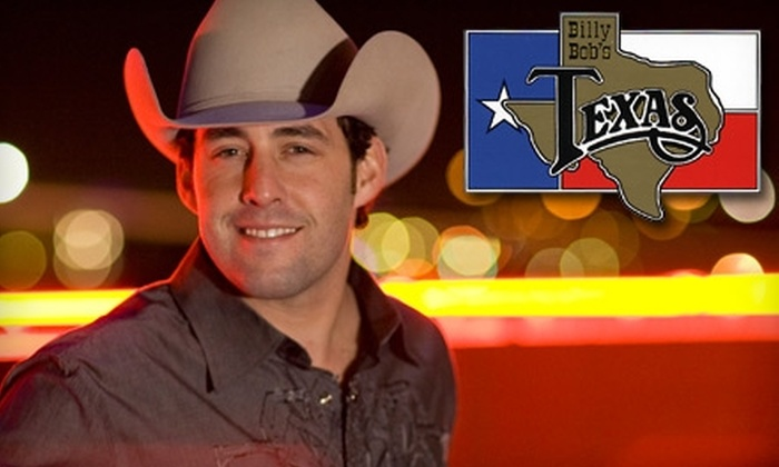 Billy Bob's Texas - Fort Worth: $8 for a Reserved-Seat Ticket or $6 for a General-Admission Ticket to Aaron Watson Concert at Billy Bob's Texas