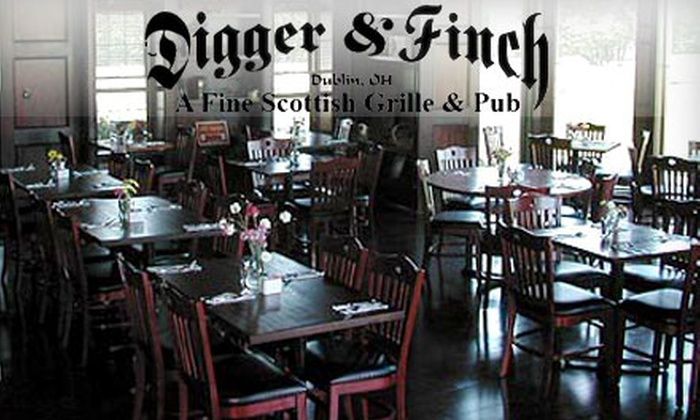 Digger and Finch - Dublin: $10 for $20 Worth of Pub Fare and Drinks at Digger & Finch in Dublin