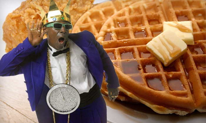 Flavor Flav's House of Flavor - Paradise: Chicken Mix with Waffles from Flavor Flav's House of Flavor (Up to 59% Off). Two Options Available.