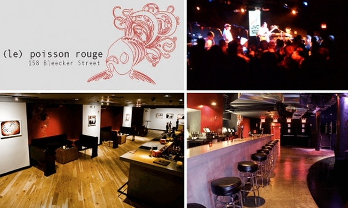 Le Poisson Rouge - Greenwich Village: $15 for $35 Worth of Food & Drink at Le Poisson Rouge
