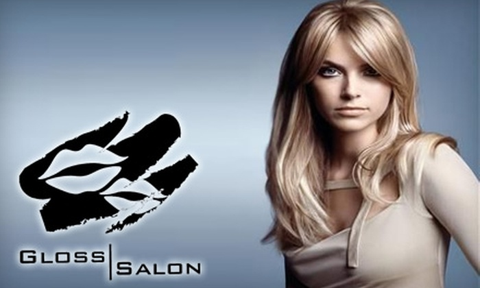Gloss Salon - Xenia: $17 for a Haircut and Style at Gloss Salon in Xenia ($35 Value)
