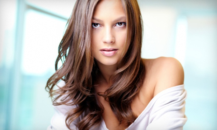 Andee - South Park: Haircut and Deep Conditioning with Options for Partial or Full Highlights from Andee (Up to 71% Off)
