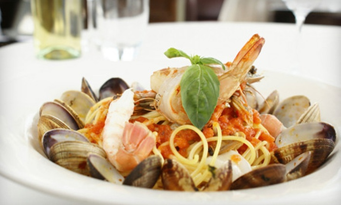 Coral Palm Cafe - Fort Myers: Italian Cuisine and Drinks for Dinner or Lunch at Coral Palm Cafe (Half Off)