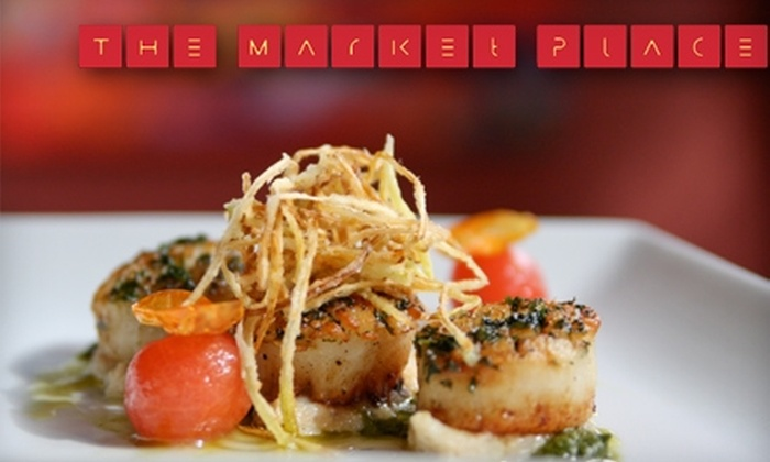 The Market Place - Asheville: $12 for $25 Worth of Locally Sourced Cuisine at The Market Place
