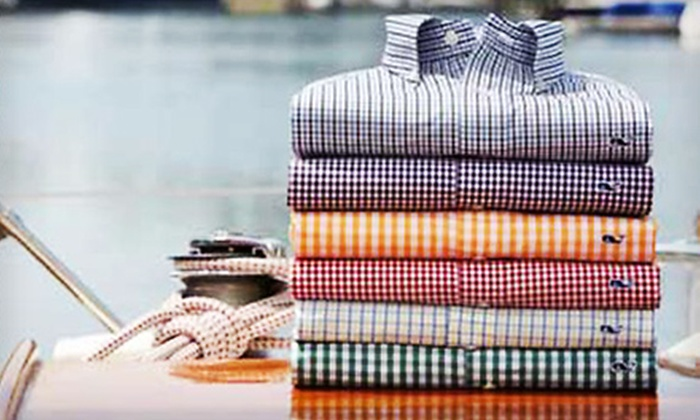 Wally's Menswear - Tarrytown: $25 for $50 Worth of Men's Clothing at Wally's Menswear