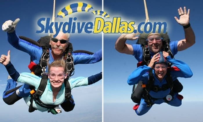 Skydive Dallas - Leonard: $149 for a Tandem Skydive Jump from Skydive Dallas