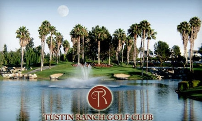Tustin Ranch Golf Club - Tustin: $29 for $80 of Driving Range Balls or $22 for Sunday Brunch for Two People ($43.90 Value) at Tustin Ranch Golf Club