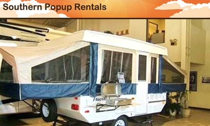 Southern Popup Rentals - Fallstown: $125 for a Three-Day, Two-Night Camper Rental from Southern Popup Rentals ($275 Value)